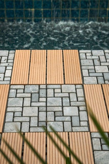Diy Lumber Cost For X Deck DIY Decking Simple Installation - Cost to lay outdoor tiles