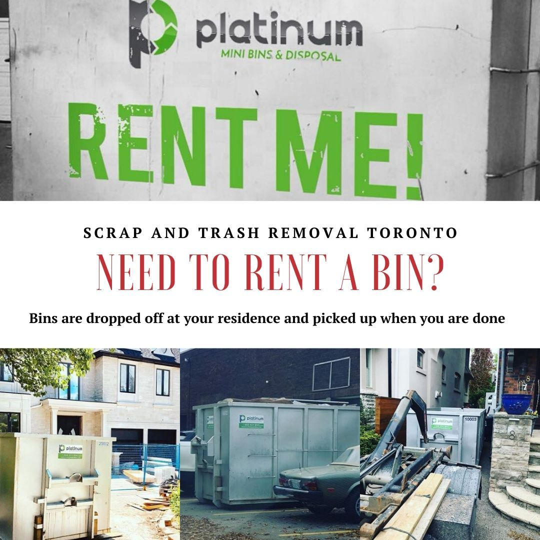 Need to Rent a Bin? in 2020 Trash removal, Recycling
