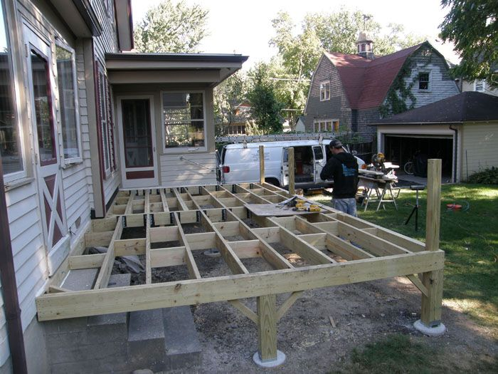 Pin By Carl Ruyevcan On Projects To Try Deck Deck Over Concrete