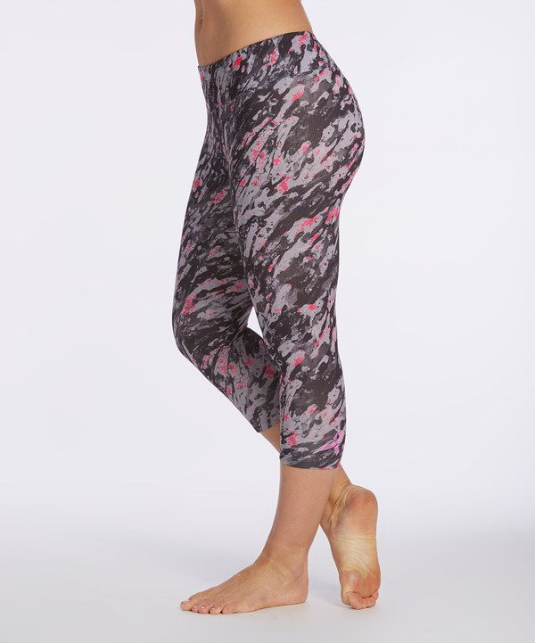 cb90b8746b751 Look at this Marika Tek Beetroot Breast Cancer Awareness Leggings on #zulily  today!