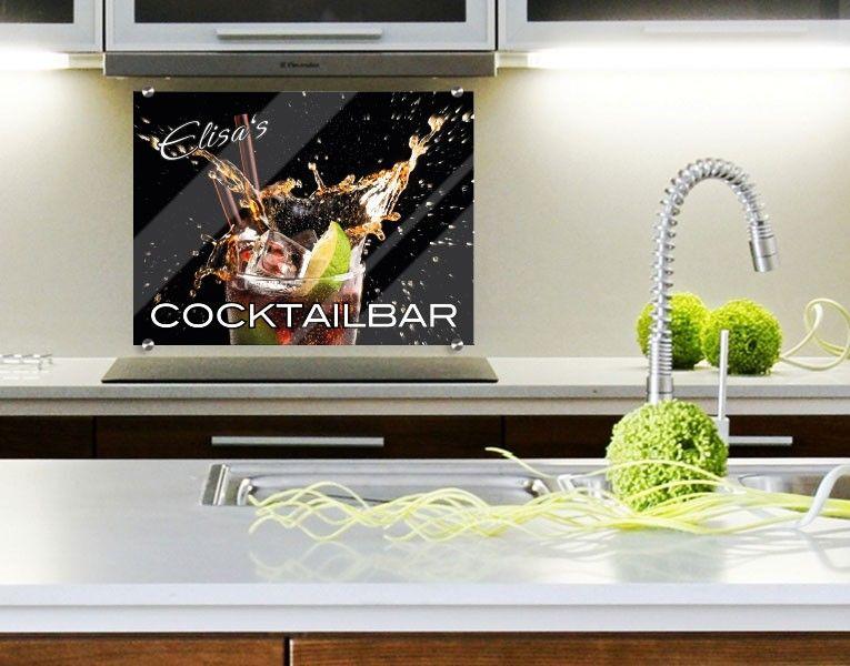 sch tze deine k chenwand ganz dekorativ mit einem. Black Bedroom Furniture Sets. Home Design Ideas