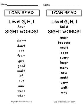 Sight word speed drills jan richardson levels   also best guided reading info images school rh pinterest