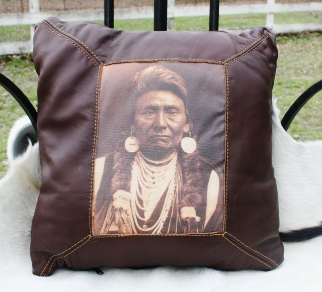 Chief Joseph on a pillow (even though he's from Idaho), <3   it.