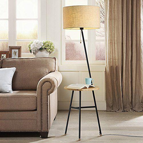 LXSEHN Leinen-LED Amerikanisches Land Einfach Schlafzimmer