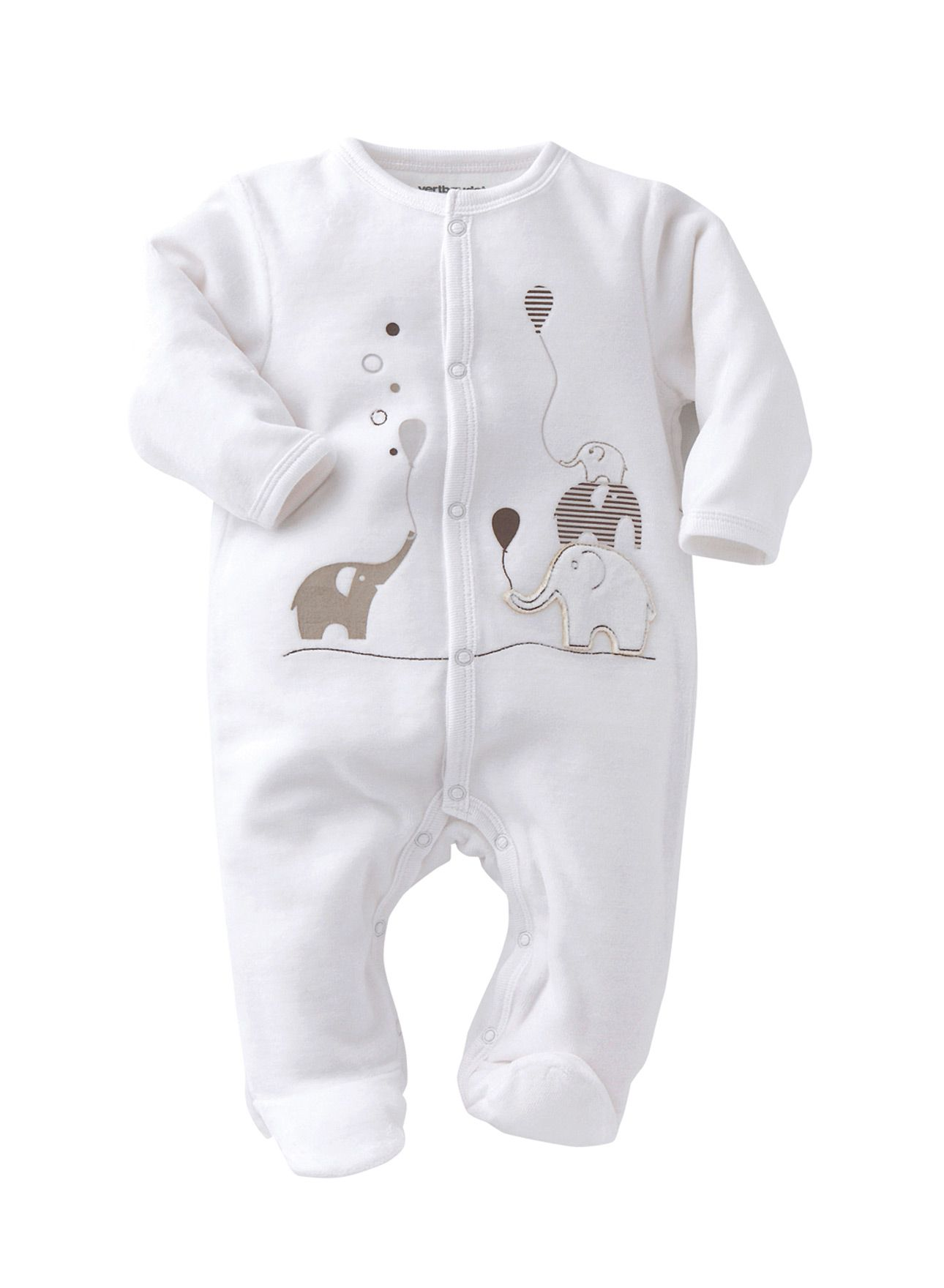 e5a82a65ed20 Gender Neutral Baby Clothes · Aww how cute is this baby gro? Lovely white  outfit for a newborn. The