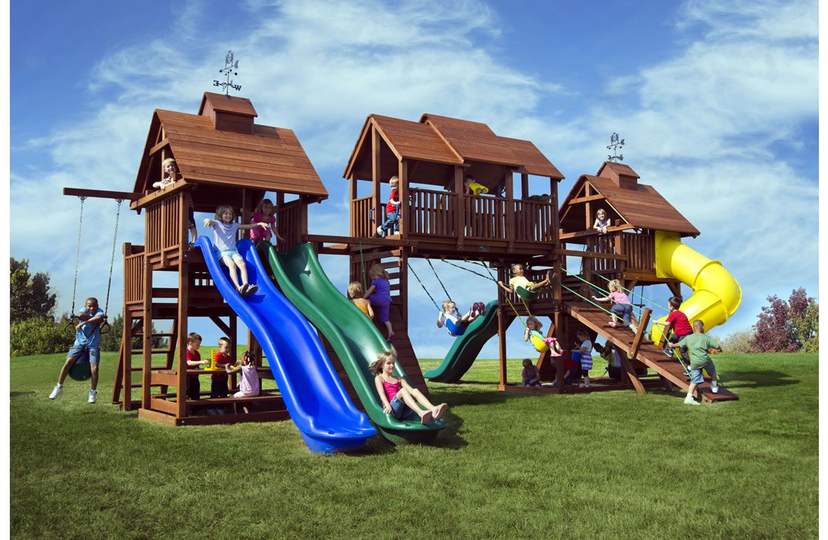 this is one huge swing set would this fit in your backyard many