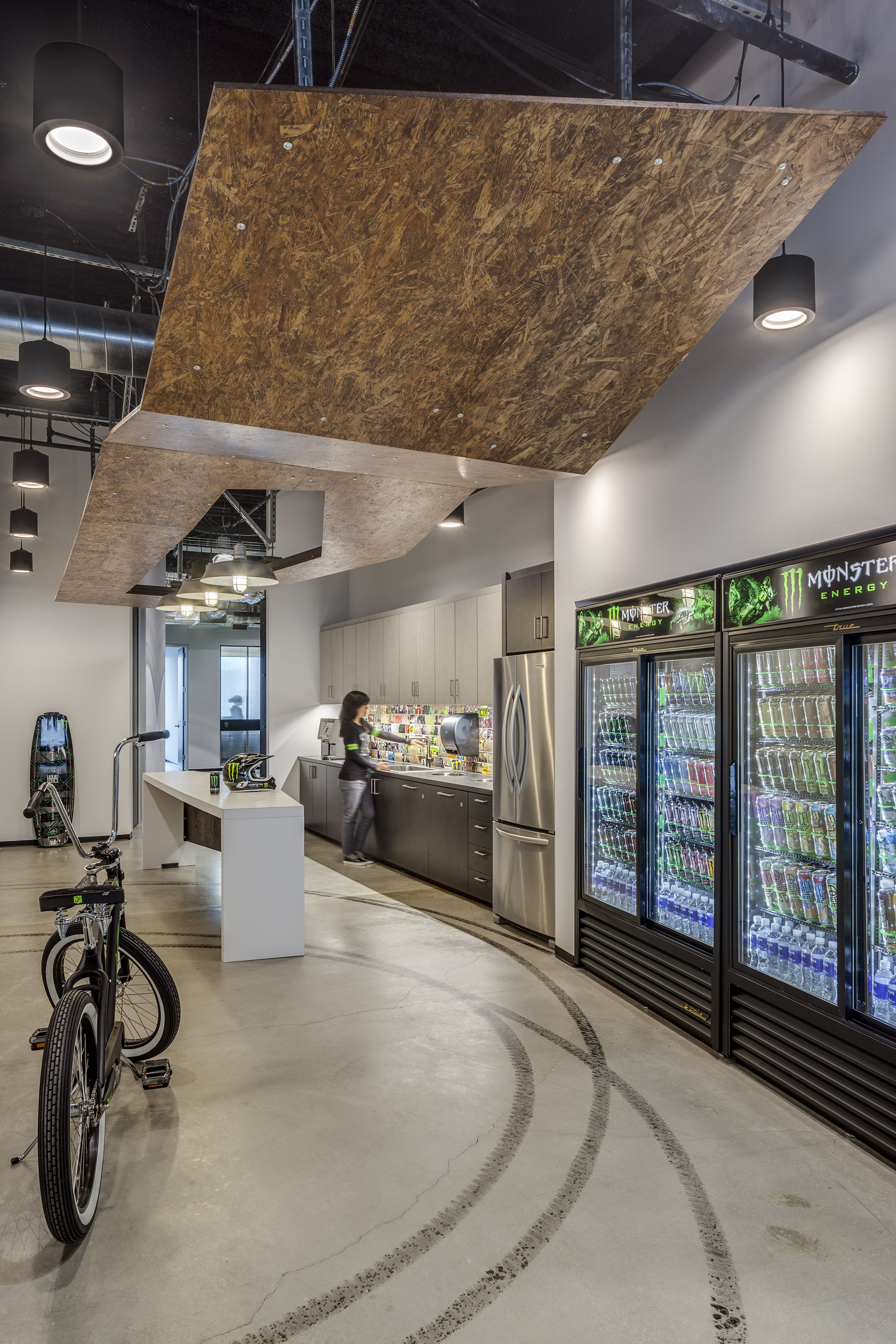 Monster Energy Headquarters Commercial Interior Design by HHendy