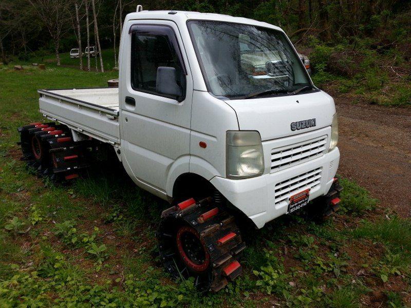 Daihatsu Mini Truck Parts >> Tracked Mini Truck   Mini trucks, Trucks, Cool trucks
