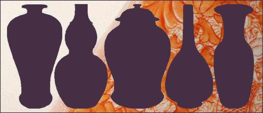 Vase Shape Names Mei Ping Vase Admirers Say Pinterest
