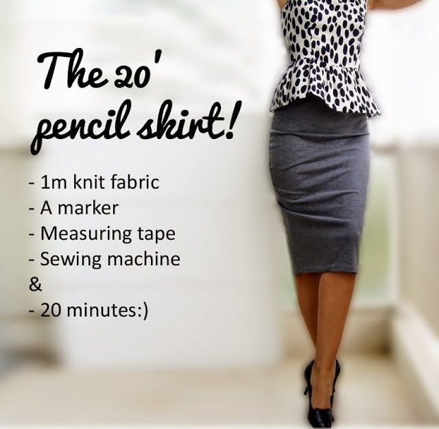 Knit Pencil Skirt Here Is A Fabulous And Smart Pencil