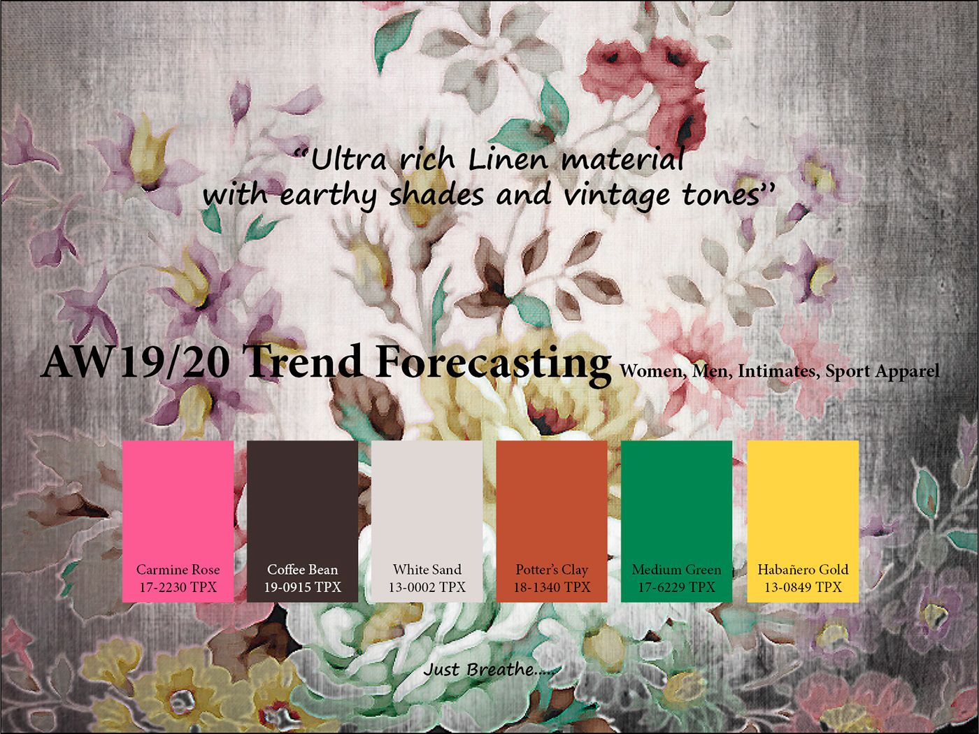 AutumnWinter 2019/2020 trend forecasting is A TREND/COLOR ...
