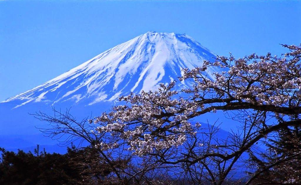 Gambar Pemandangan Alam Gunung Lukisan Atas Pemandangan Yang Akan Ditampilkan Ini Adalah Ilustrasi Dari Beberapa Alam Yang Ada Di Pemandangan Gunung Fuji Alam
