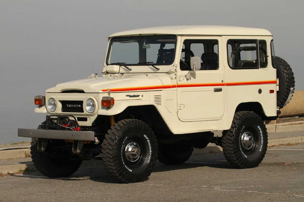 TOYOTA LAND CRUISER FJ40 4X4 RESTORED | Land Cruiser Of The