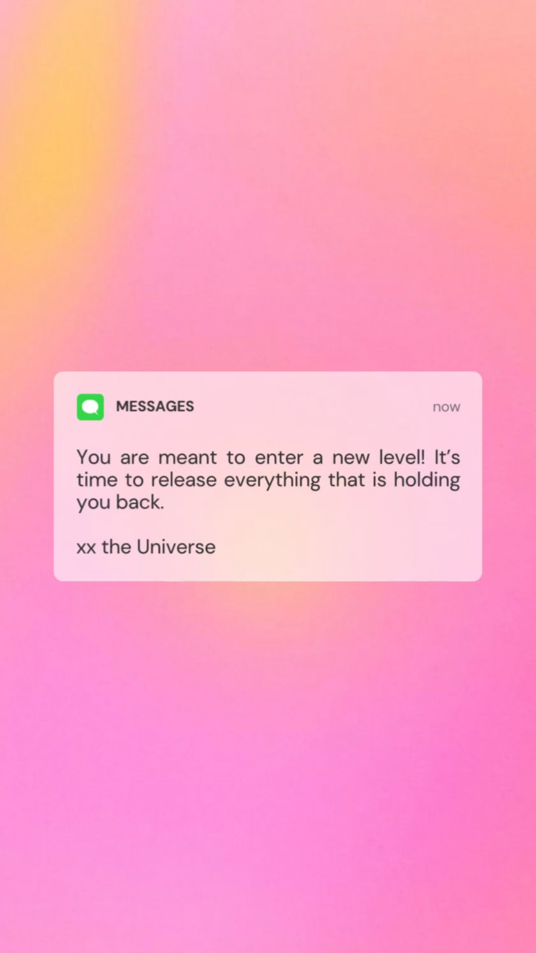 Notes from the Universe   Powerful Affirmations for Manifestation