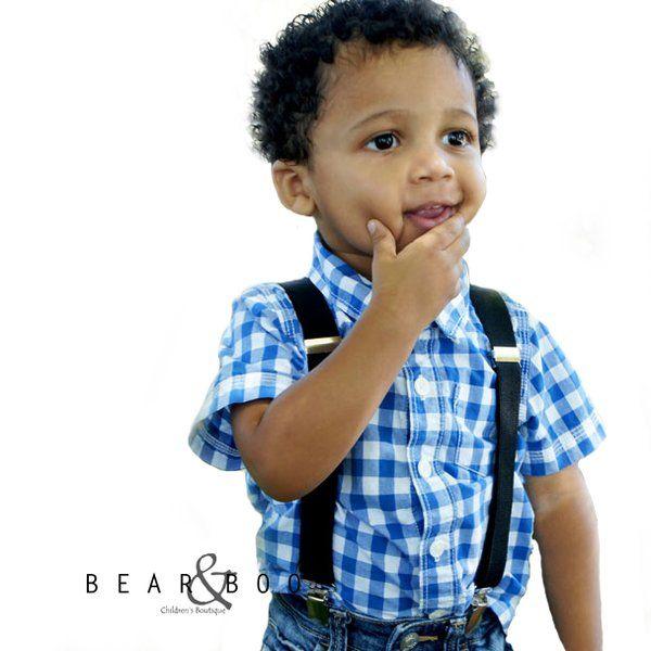 Little Hipster black suspenders #Kidssuspenders #Hipster #styleforkids