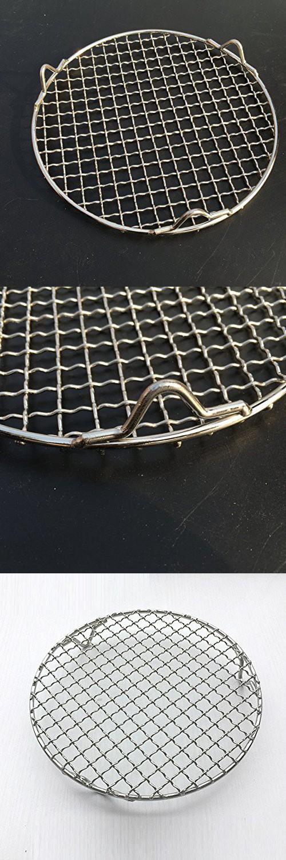 1pcs medium stainless steel cross wire round baking