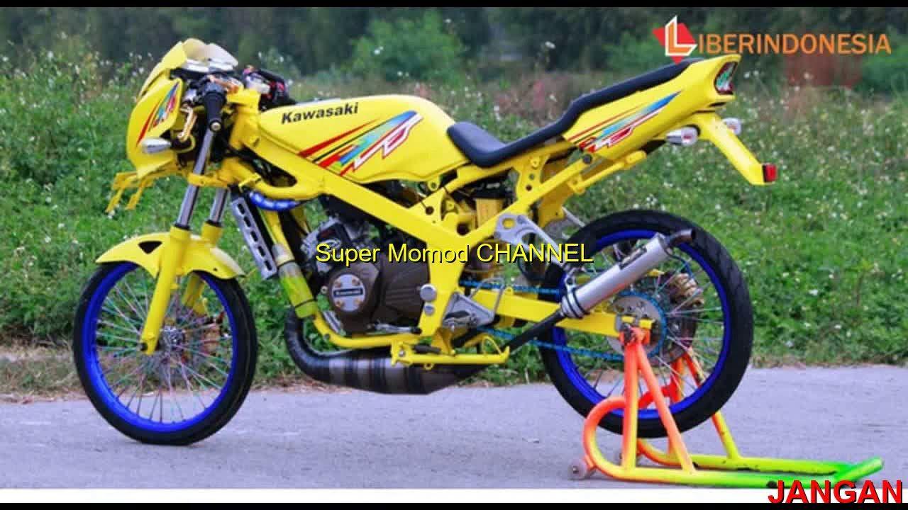 Modifikasi Motor Ninja 97 di 2020 Motor, Motor sport, Ninja