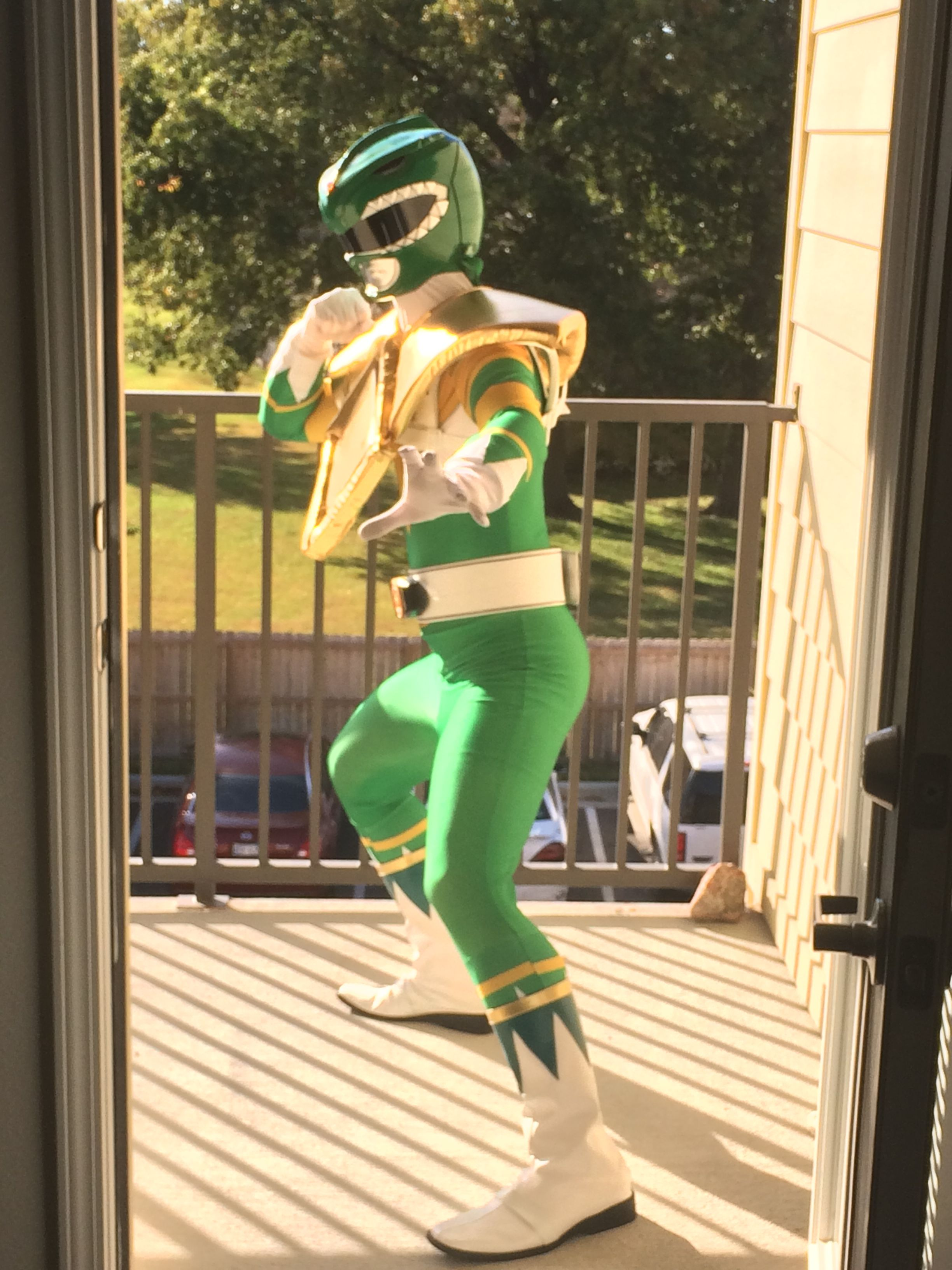 My Green Ranger Cosplay! I thought I'd post this because