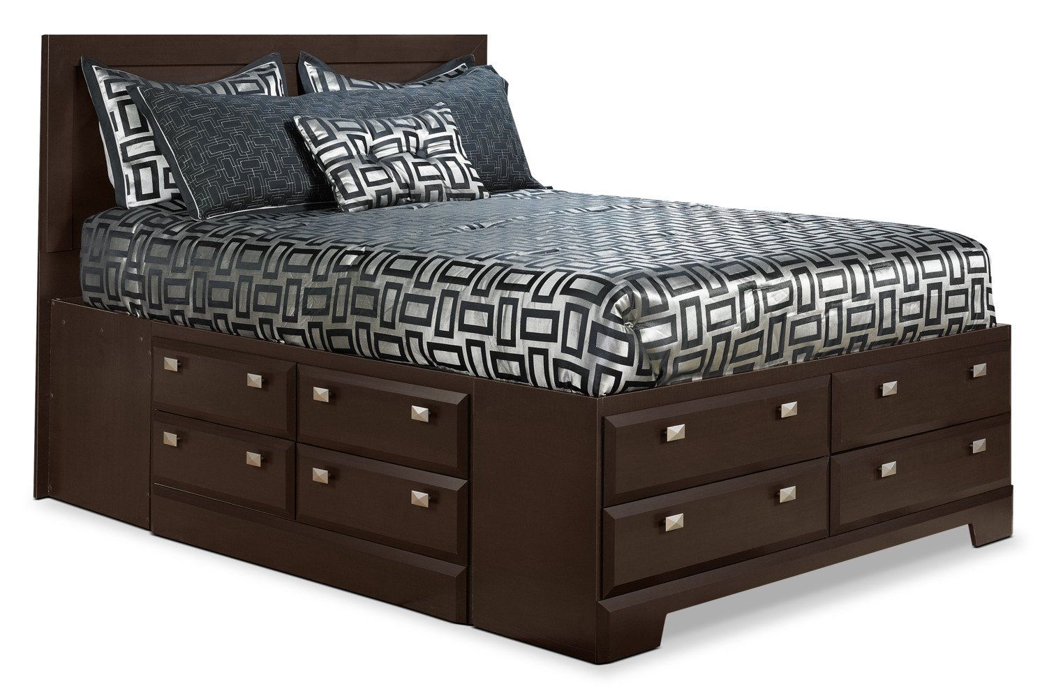 Yorkdale Full Platform Bed With Storage Platform Bed With Storage Bed Storage Storage Bed Queen