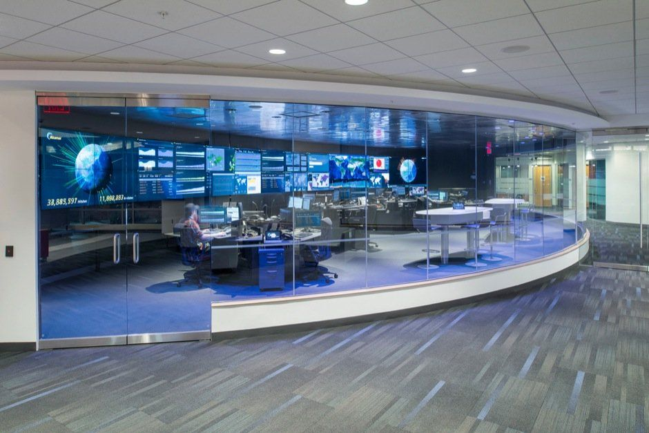 Command Center Furniture Design network operations center (noc) design and installation for this