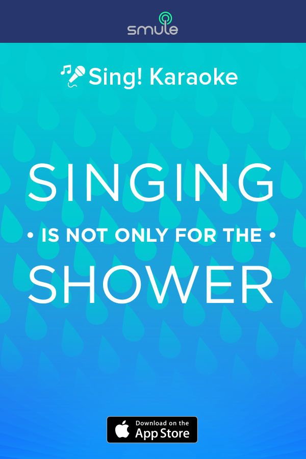 What do you feel like singing today? Check out Sing