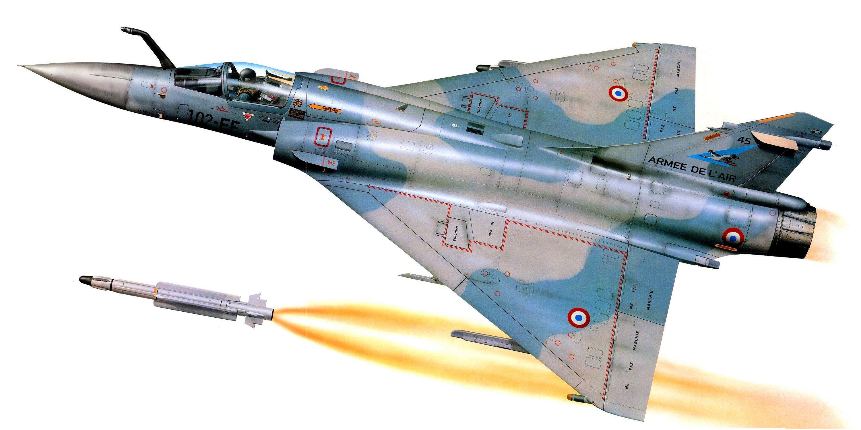Dassault Mirage 2000-5F | Postwar jets | Airplane painting