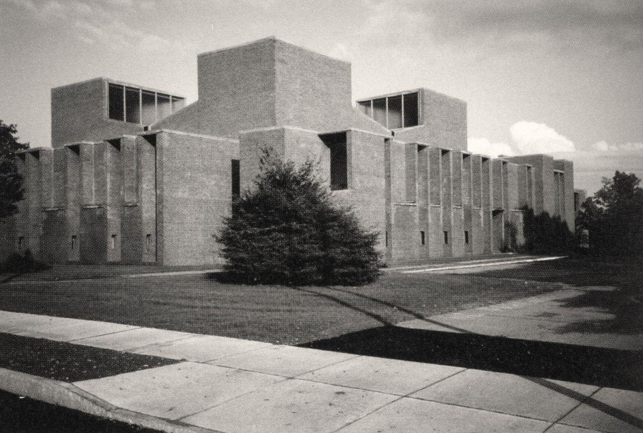 Marvelous Louis Kahn, First Unitarian Church, Rochester, NY, (1962)
