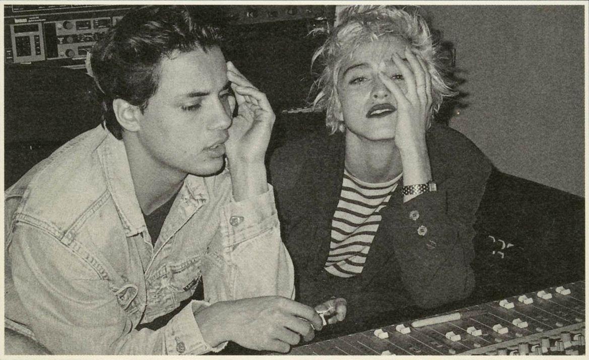 Madonna & Nick Kamen   Celebridades adolescentes, Chicos