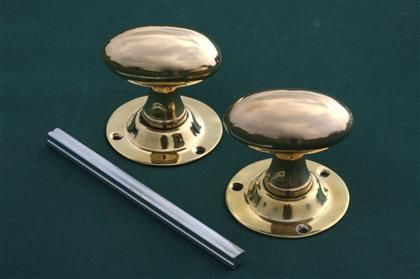 Brass Door Knobs Classic Oval http://www.priorsrec.co.uk/brass-door ...