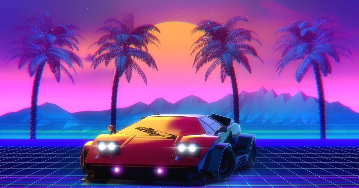 What Others Are Saying Retrowave Car Vehicle Sports Car Synthwave 80s 1980s Performance Car Race Car Graphics Ne In 2020 Lamborghini Countach Retro Waves Hd Wallpaper