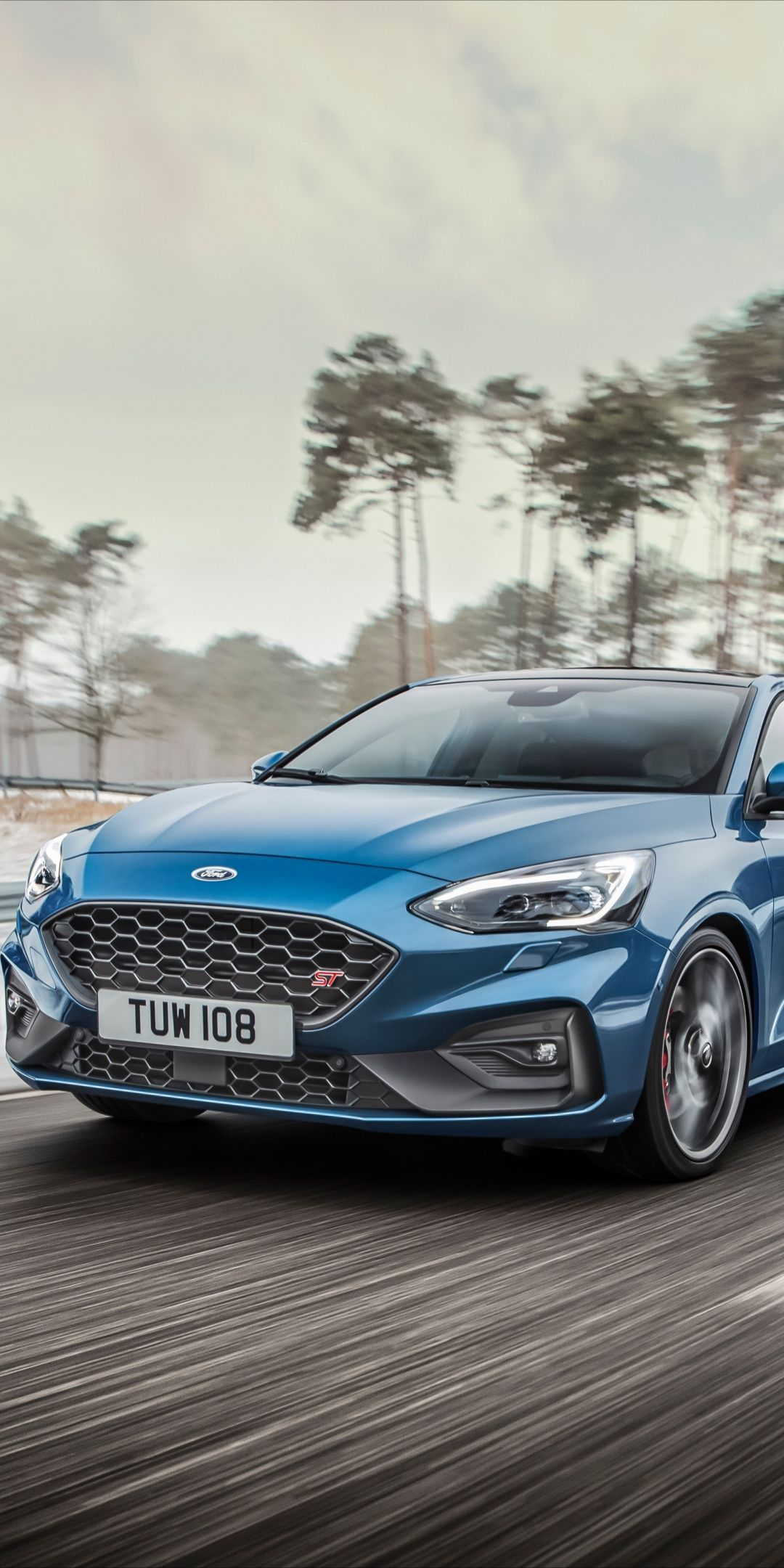 Ford Focus St On Road 2019 1080x2160 Wallpaper Ford Focus St