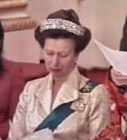 "Princess Anne ""Mystery"" Tiara in China"