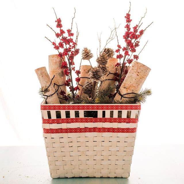 How to Create a Faux Fire Basket