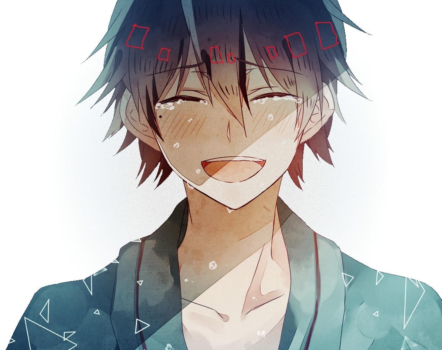 Imgur Com Anime Crying Anime Smile Anime Boy Smile