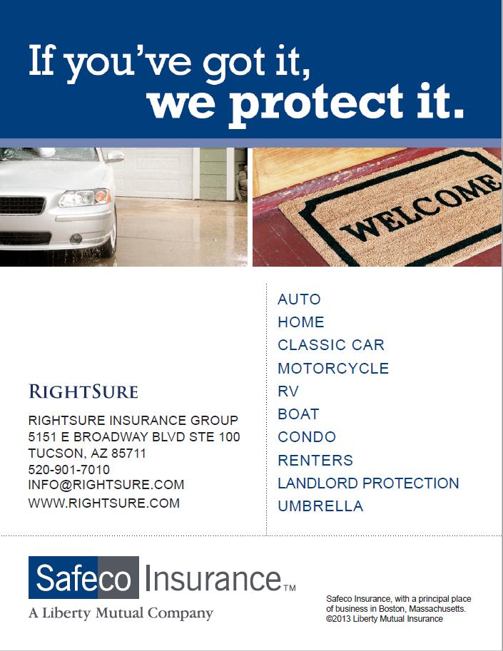 Safeco Insurance Agent Near Me Tucson Arizona ARIZONA