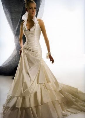 wedding dresses with high collars | Fashionable Flounce: Edgardo ...