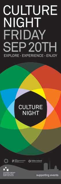 DCC Events Lamppost Banners for Culture Night 2014 #civicmedia2014