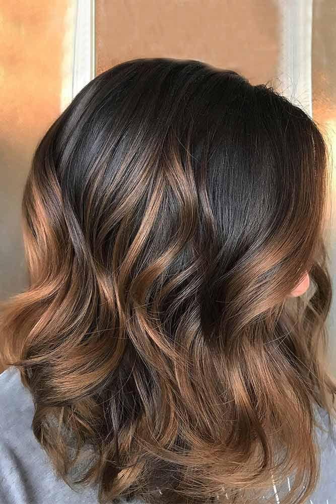 21 Ideas Of Highlights For Dark Brown Hair Pinterest Dark Brown