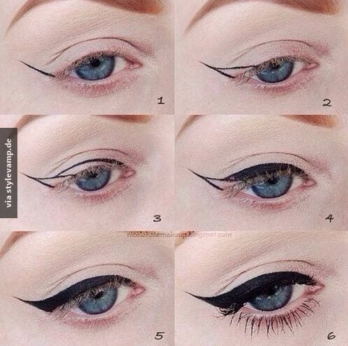 Perfekter Eyeliner Strich #beautyhacks
