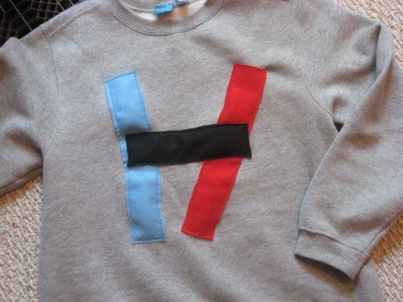 1ae03fe8e797a Grey Twenty One Pilots Logo Sweatshirt on Etsy