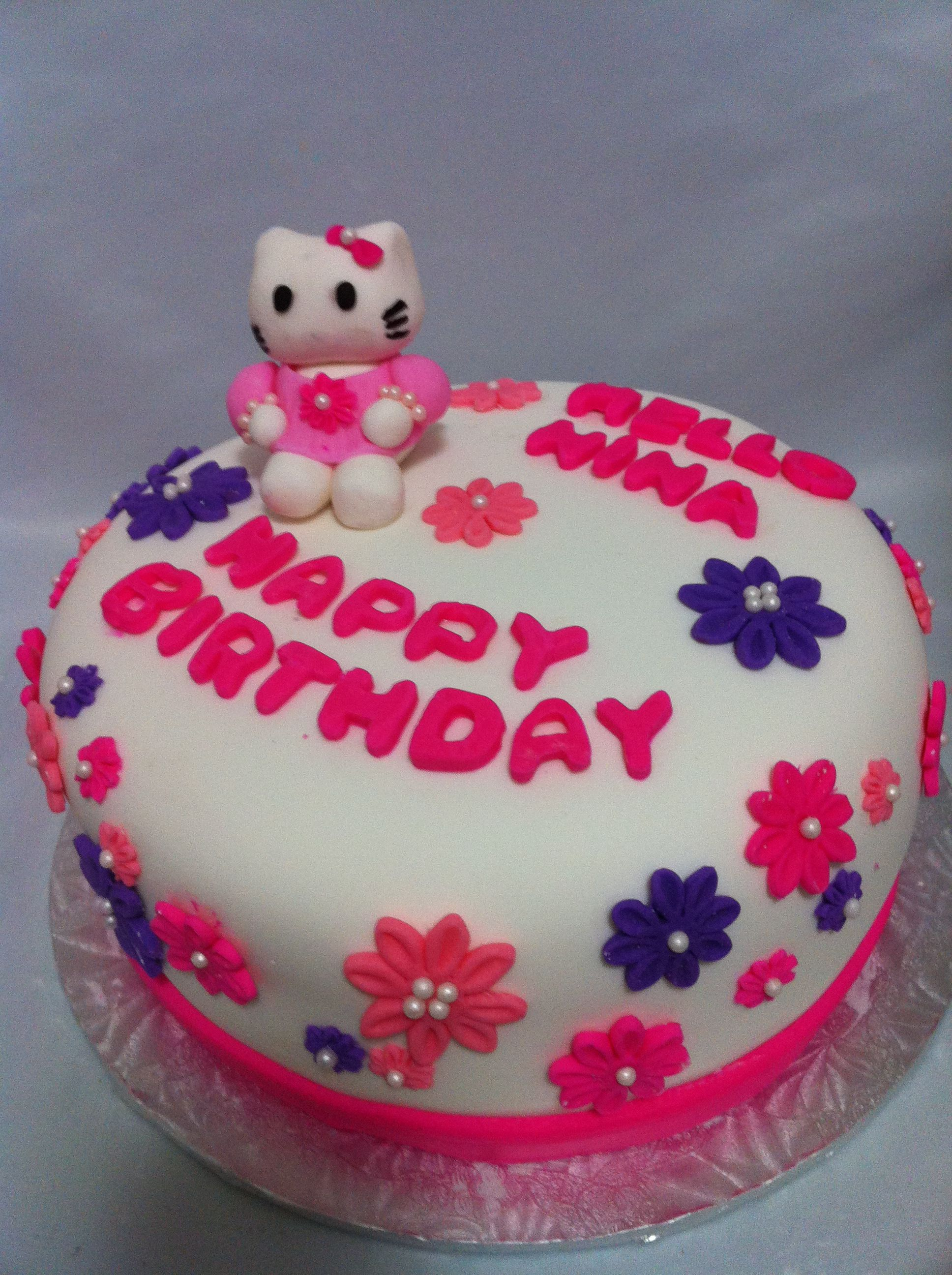 Hello kitty birthday cake by Sweet Treatz Cake Pops Cakes