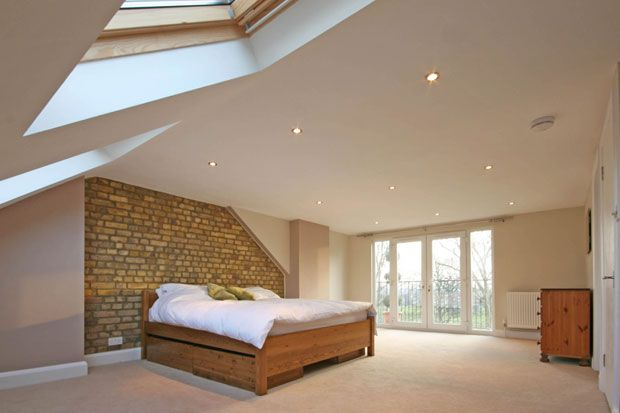 South london lofts first for loft conversion across for Bedroom ideas victorian terrace