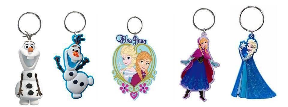 Frozen Keychain Anna /& Elsa