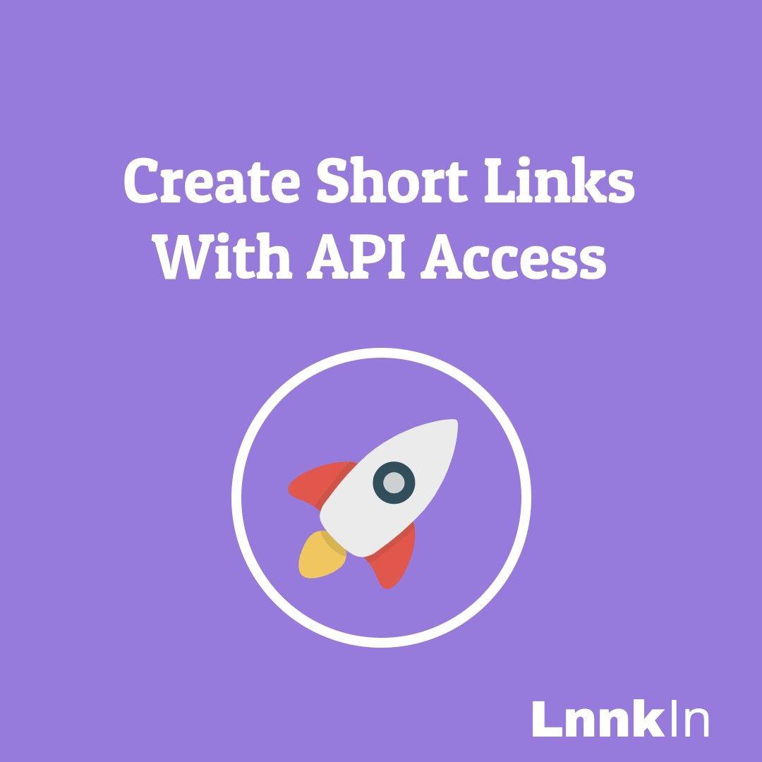 Create links with api in 2020 url shortener school