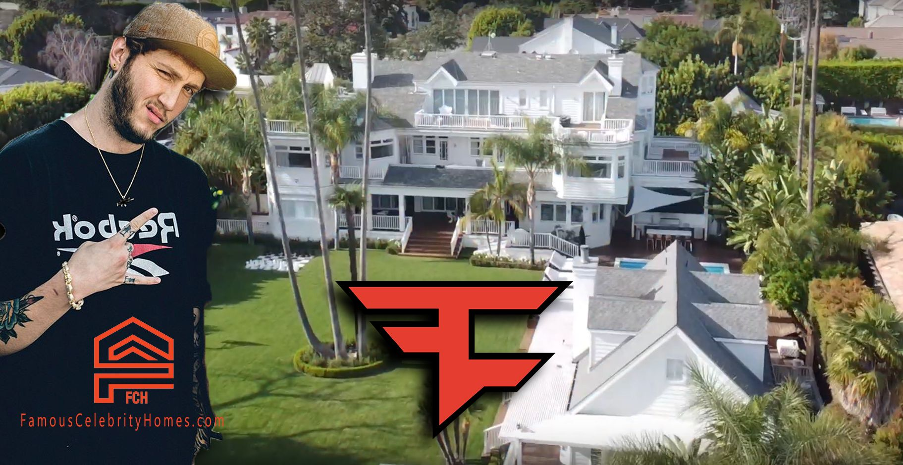 The New Faze House Is Being Rented For 80 000 Per Month In 2020