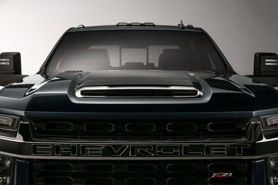 2020 Chevy Silverado Hd Teased Will Debut Next Year Silverado Hd Chevy Silverado Hd Chevrolet Silverado