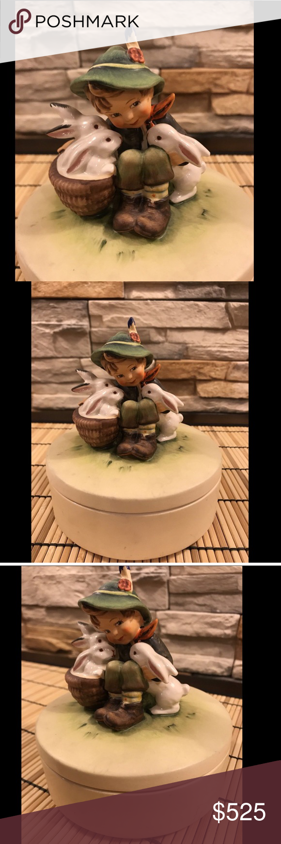 Hummel Rare Candy Box Figurine This is a genuine M.I
