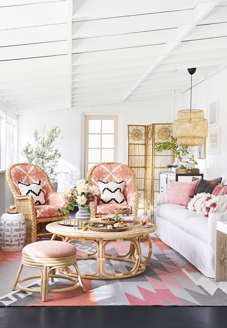 Living coral is a bright happy color so its a natural choice for a