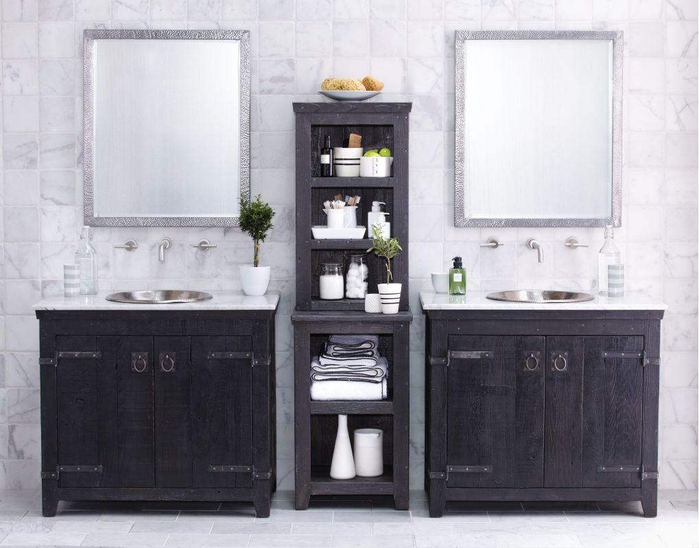 Native Trails Bnda81 Americana 36 Freestanding Vanity Set With 2 Wood Cabinets Anvil Fixture Single