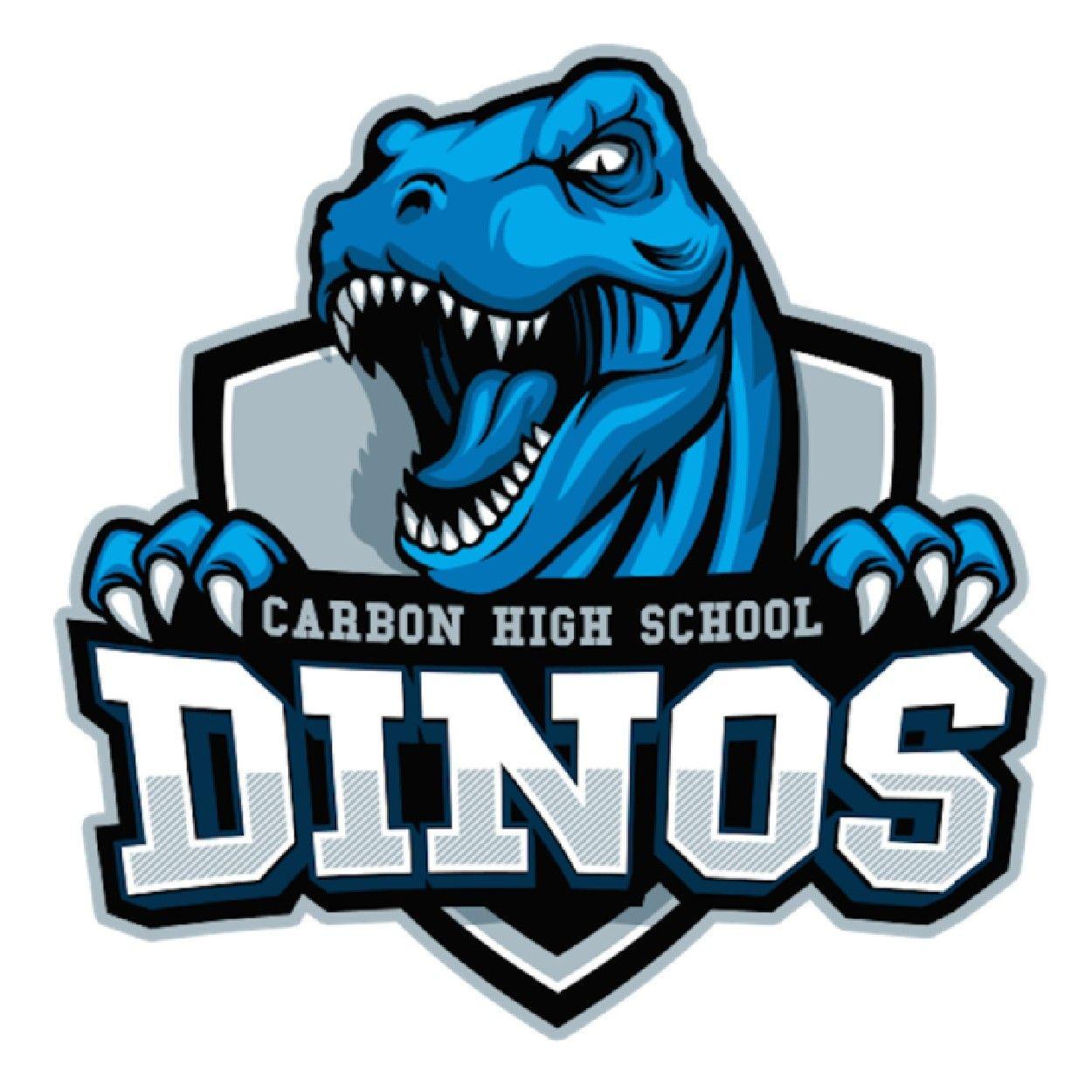 Carbon dinos price ut game logo design graphic design